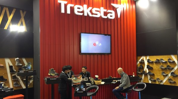 Showing at ISPO MUNICH: Korea's large shoe manufacturer Treksta.