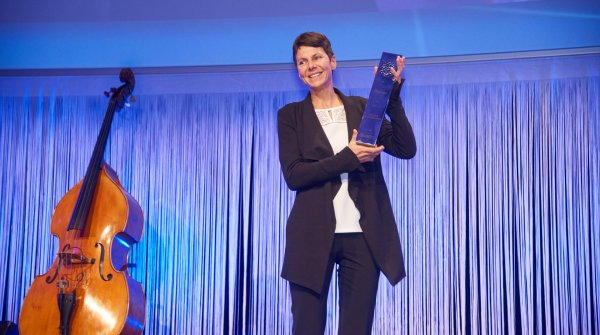 Gerlinde Kaltenbrunner is named Sports Person of the year at ISPO MUNICH 2016.