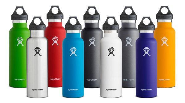 Hydro Flask bottles were presented at ISPO MUNICH in 2016