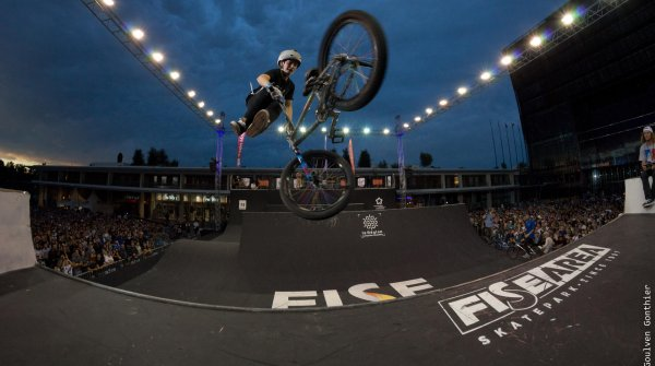 The halfpipe ist one of the competitions of the FISE World Series.
