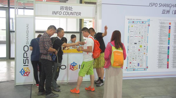 You got a question? The answer is near at the Info Counters of ISPO SHANGHAI