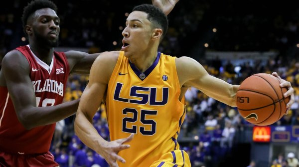 Ben Simmons took the plunge into the NBA after only one year at college.