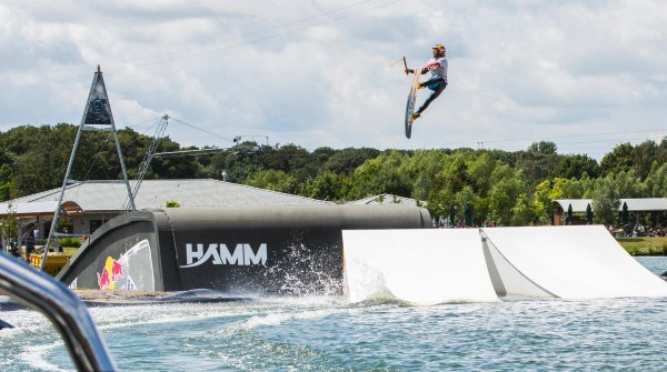 The wakeboarder elite is set to marvel everyone at the Munich Mash from July 1-3 in the Olympic Park.