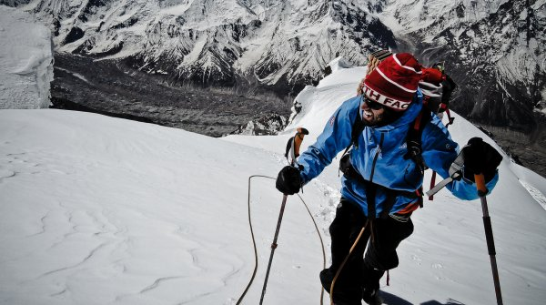 To the limit: The struggles can barely be explained to a non-mountain climber, says Auer.
