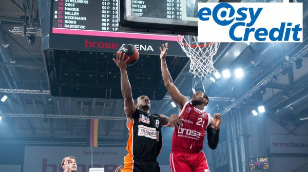 easyCredit should become the new name sponsor of the Basketball Bundesliga.