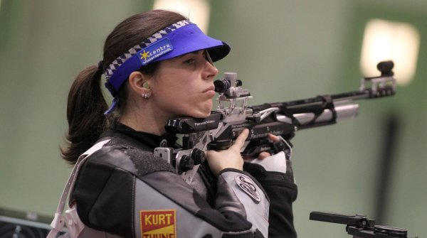 Barbara Engleder has been World and European champion several times in shooting. At the 2016 Olympics in Rio she will experience her fourth games.