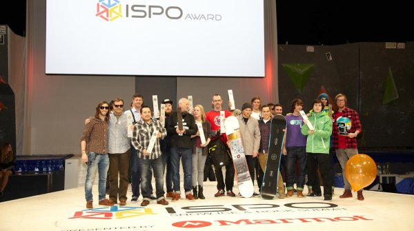 This is what champions look like: The winners of the 2016/2017 ISPO AWARD at ISPO MUNICH 2016.