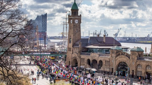 The Hamburg Marathon is Germany's biggest spring marathon.