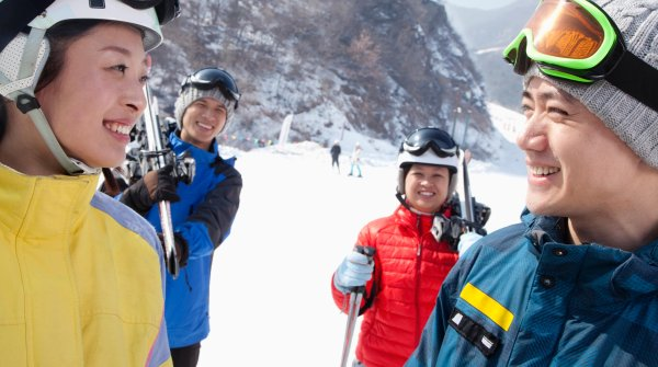 The winter sport industry is growing in China – in comparison to the West it is still in its infancy though.