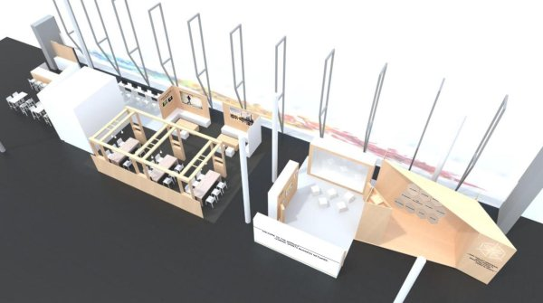 In 300m², the ISPO SHOWROOM will inform visitors about the 11 ISPO Business Solutions.