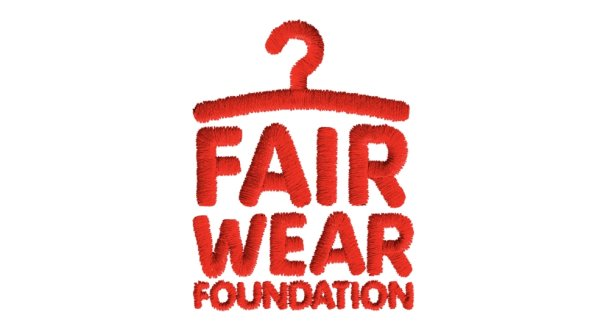 The logo for the Fair Wear Foundation