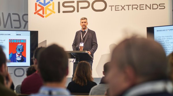 Braind founder Tomas Vucurevic talks about the ecolabel jungle at ISPO ACADEMY.
