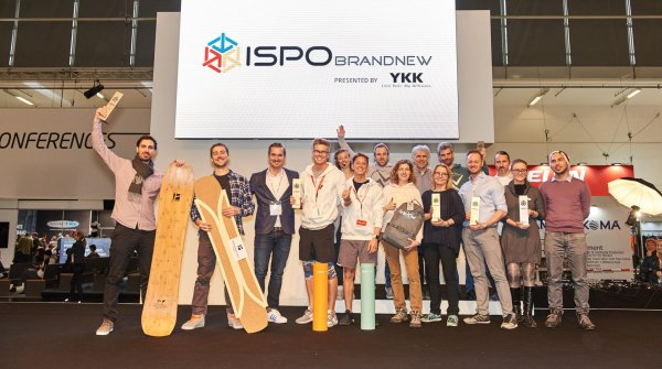 The ISPO BRANDNEW 2017 award winners