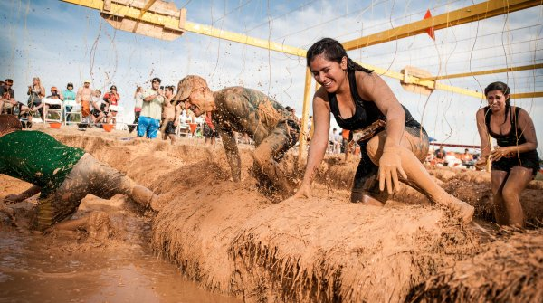 In Deutschland locken jährlich acht Tough-Mudder-Events