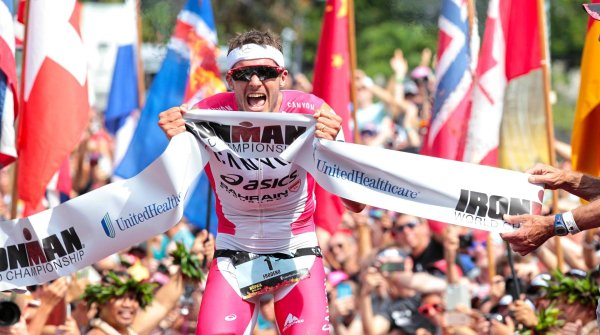 Jan Frodeno defended his title at the Ironman Hawaii 2016 over the long distance triathlon, followed by the third title in 2019.