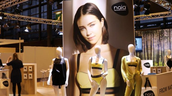 Initially launched into the intimate apparel market, the benefits of Naia will suit the sports sectors.