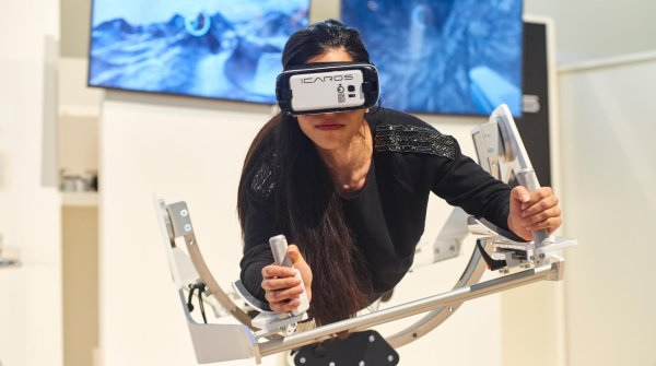 VR for athletes – ICAROS at ISPO MUNICH
