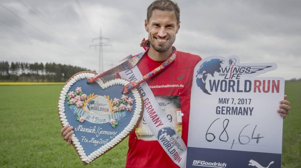 Wings for Life World Run: Sebastian Hallmann wins in Munich