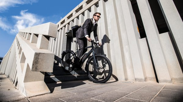 The e-bike is a welcome alternative for commuters