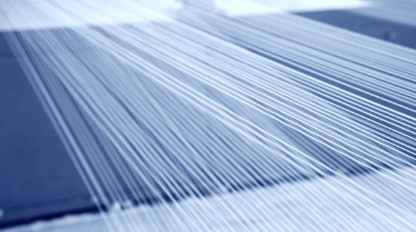 Cotton textile remnants are collected and spun into new smart Ecotec cotton yarns.