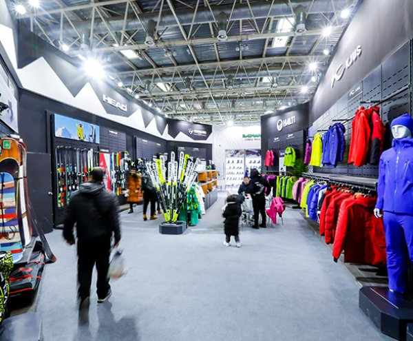 Example of booth at ISPO Beijing