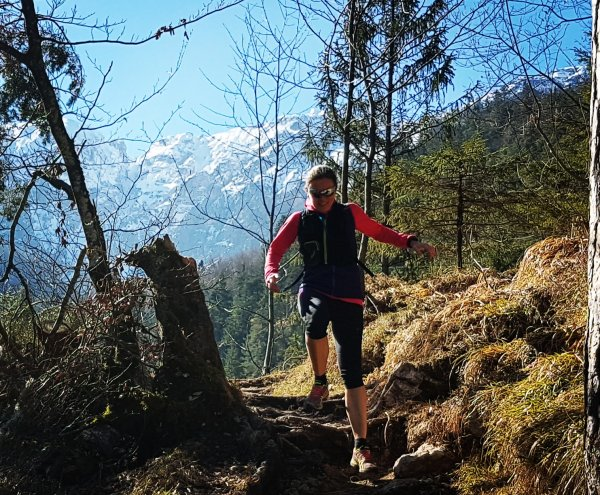"A simple tip from ultra runner Andrea Löw: ""Decent shoes on, out, and off you go!"""