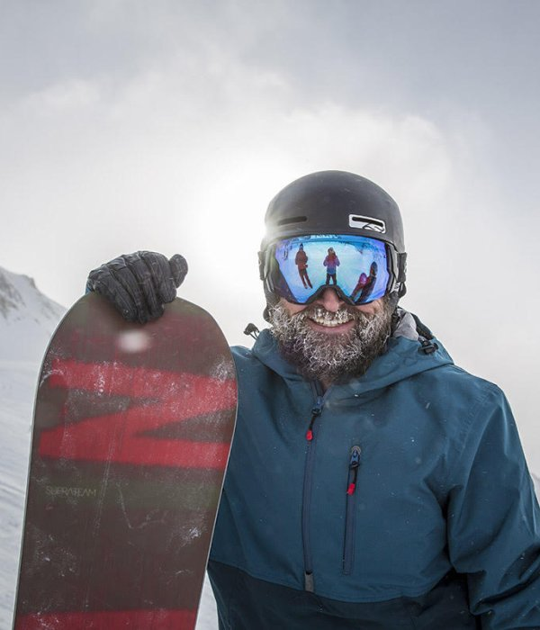 Tommy Delago is the founder of the snowboard brand Nitro.