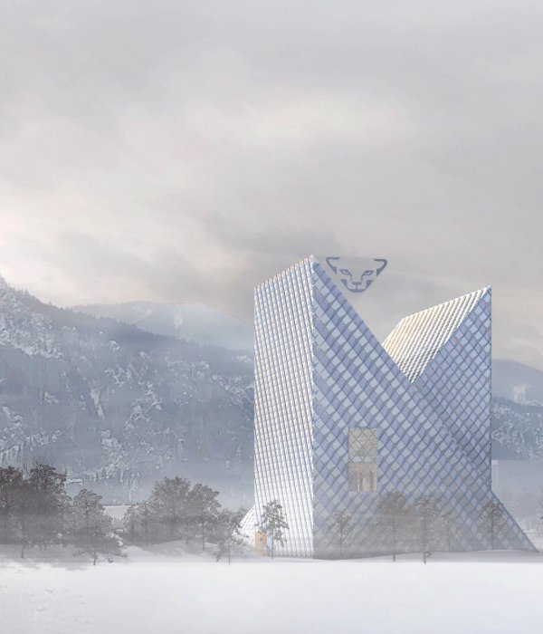 The new Dynafit building in Kiefersfelden