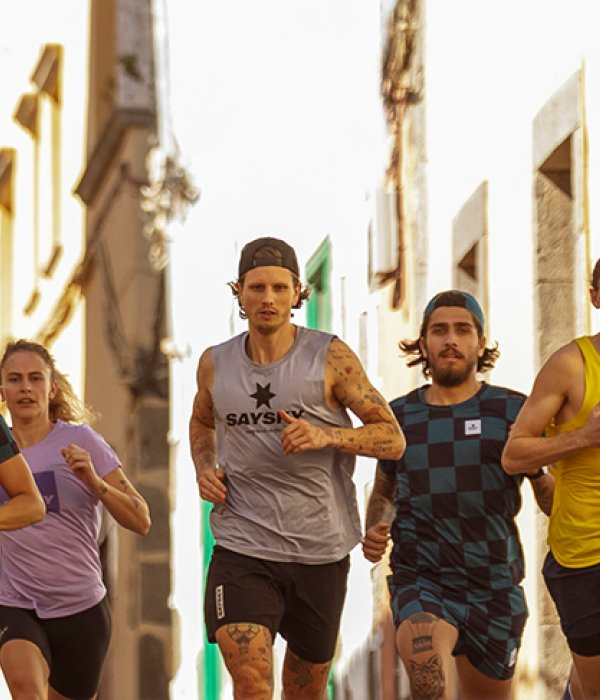 To stand out in performance running clothing, Saysky goes its own way in design.