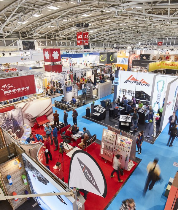 Get a booth at ISPO Munich and display your products.