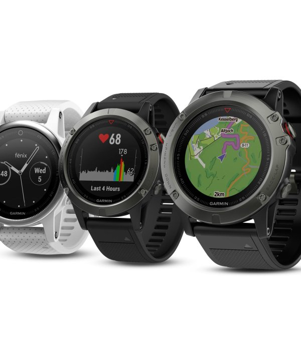 The fenix 5 series by GARMIN is GOLD WINNER of the ISPO AWARD 2017 in the performance segment.