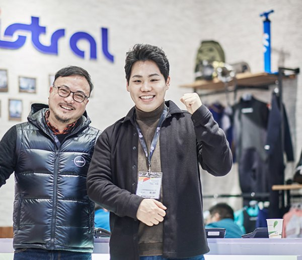 Asian exhibitors at ISPO Shanghai