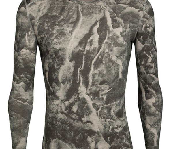 ISPO Award Gold Winner Outdoor ICEBREAKER Nature Dye 200 Oasis Long Sleeve Crewe Baselayer