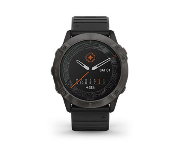 ISPO Award Gold Winner Running Garmin fenix 6X Pro Solar Smartwatch