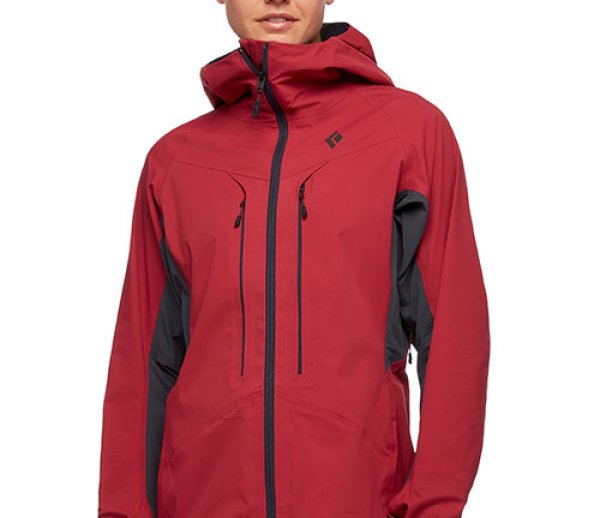 ISPO Award Gold Winner Snowsports Black Diamond Equipment Dawn Patrol Hybrid Shell Ski Jacket