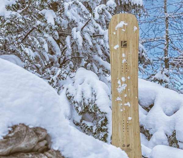 Curved bamboo stringers are processed in the Anticonf Board: the Hardware Winter winner.