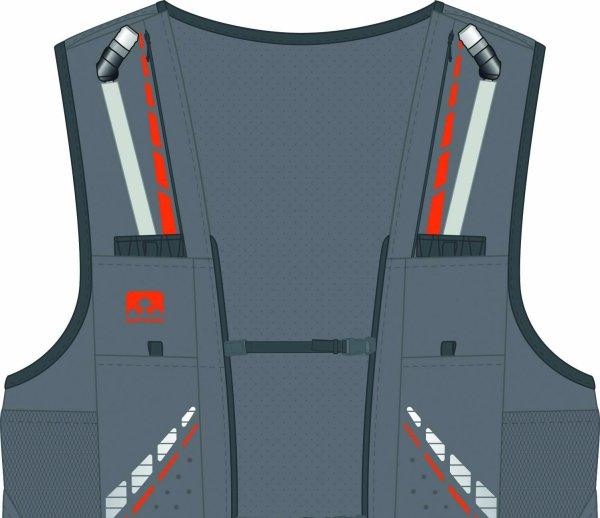 The VaporKrar 4L Ultra-Light Race Vest by Nathan is WINNER of ISPO AWARD 2017 in the performance segment.