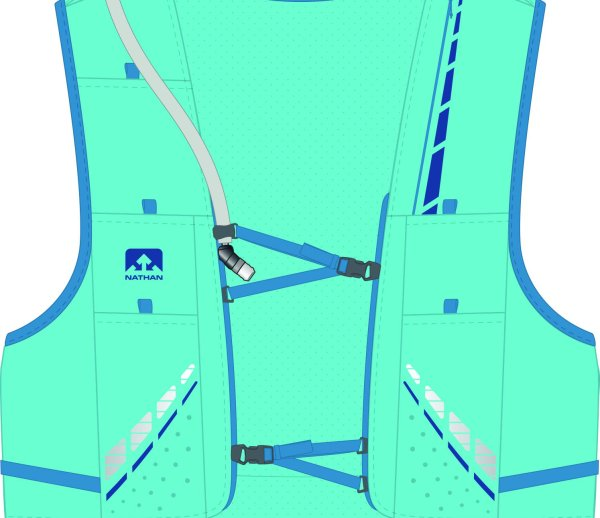 The VaporHowe 12L Race Vest by Nathanis WINNER of ISPO AWARD 2017 in the performance segment.